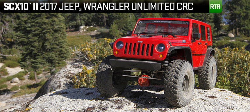 Axial SCX10 II 2017 Jeep Wrangler Unlimited CRC – RTR
