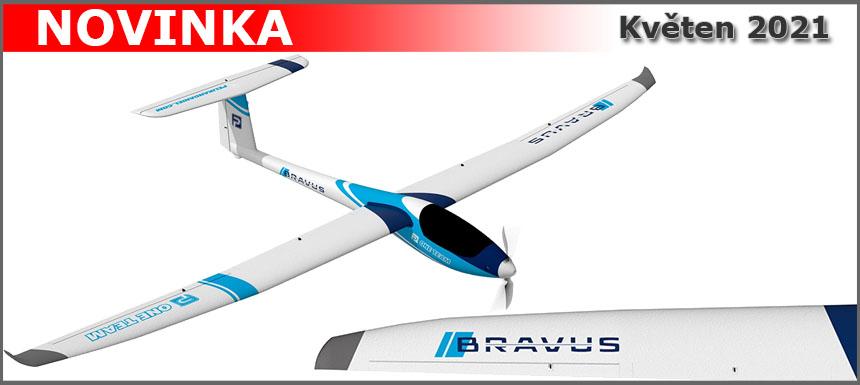 Nový motorový větroň BRAVUS 2400