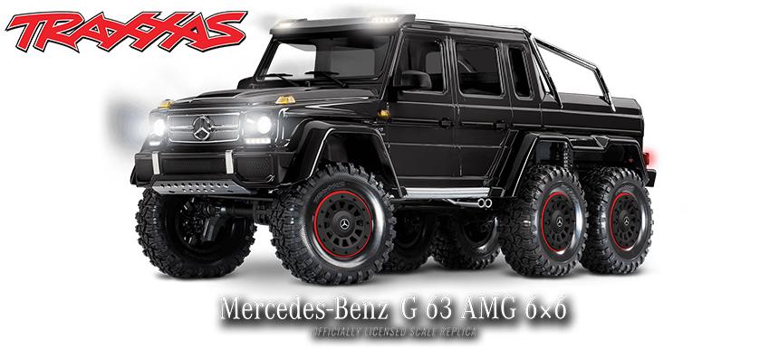 Traxxas TRX-4 Mercedes G 63 6x6 1:10 TQi RTR